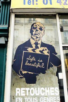 ღღ Paris 3 - rue de turenne - street art