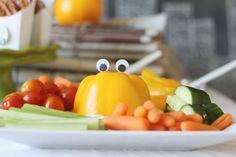 Monster party, spotlight on food.