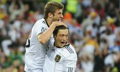 Muler 3 goals of Portugal 0-4 Germany World Cup 2014 in Brazil