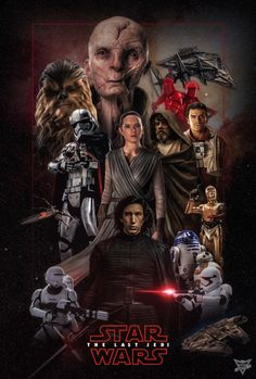 Star Wars: The Last Jedi - I didn't love it, but don't hate it either. It's a very mixed bag of good, bad and um, ok. Poster by Spider-maguire