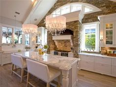 9 Kitchens with Dining Tables here! Inspiring Photos and Ideas for your Kitchen. Click Here to See our Photo Gallery...it's FREE!