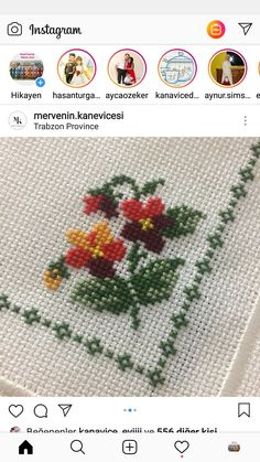 Cross Stitch Rose, Cross Stitch Borders, Diy And Crafts, Embroidery, Crochet, Handmade, Crochet Cactus, Embroidery Hoop Crafts, Cross Stitch Embroidery