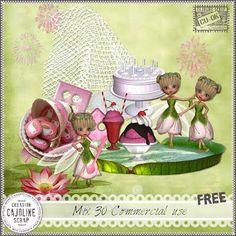 Poser Tubes Freebie | Free Poser Fairy Tubes | Blue's Sweet Shop