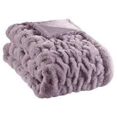 Purple Throw Blanket, Faux Fur Throw, Knitted Throws, Cozy Blankets, Bed Throws, Furla, Lavender, Bedroom Ideas, Style