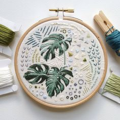 Well aware that Sarah k B has mastered the art of house plant embroidery, maybe I'll go back to flowers!