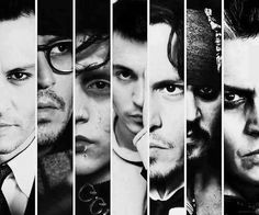Johnny Depp's characters