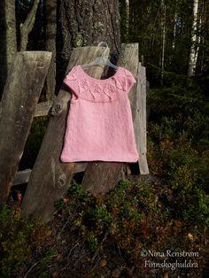 Sukkertøy rosa Bløde Blade i dobbel Drops Alpaca
