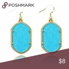 Blue Statement Earrings New blue statement earrings. Bundle and save. Jewelry Earrings
