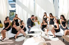 Old hollywood/ vintage glam. Wedding day kiss