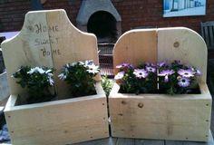 bloembakken maken van pallets - Google zoeken