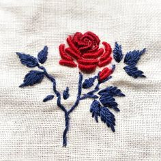 No automatic alt text available. Hand Embroidery Projects, Floral Embroidery Patterns, Hand Embroidery Flowers, Creative Embroidery, Hand Embroidery Designs, Ribbon Embroidery, Bullion Embroidery, Embroidery Works, Simple Embroidery