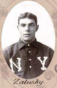 Jack Zalusky, Catcher