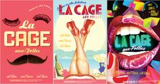 Poster Art for Revival of 'La Cage Aux Folles' - The New York Times