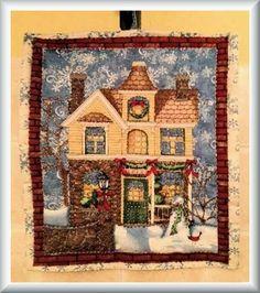 Voglio il mondo a colori: Quadretto natalizio