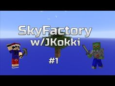 SkyFactory w/JKokki - SkyBlock season 3 :D Season 3, Minecraft, Youtube, Instagram, Youtubers, Youtube Movies