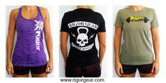 Check out the new women's gear at @Rigor Gear.com Use promo code 'G2G25' for 25% off! #apparel #crossfit #wod
