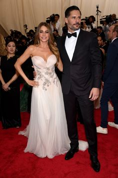 Pin for Later: Get a Load of All the Glamour on the Met Gala Red Carpet! Sofia Vergara and Joe Manganiello