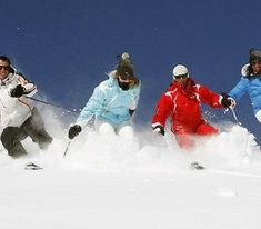 How a group of tourists with skis can get from Milan to the ski resorts
