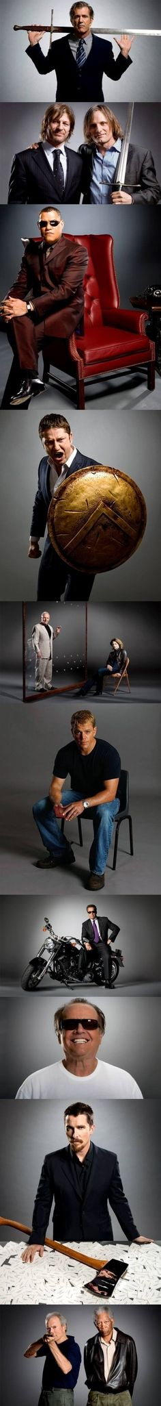 Famous actors and their iconic roles (my personal favorite, Viggo Mortenson)