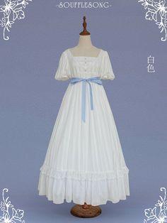 Regency Dress, Girls Dresses, Flower Girl Dresses, Lolita Dress, Disney Princess, Elegant, Wedding Dresses, Alice, Fashion