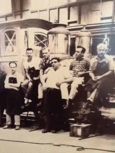 Kelly's dad, Neil Gallagher (second from left glasses)