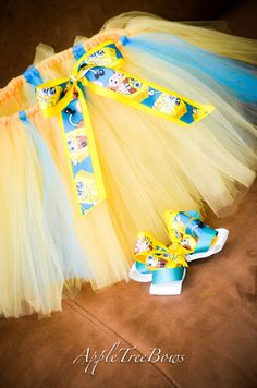 Spongebob tutu by AppleTreeCreations12 on Etsy, $20.00