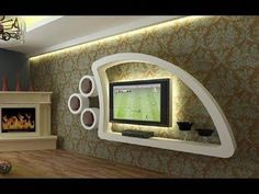 The best catalogue for modern TV cabinet designs and TV wall units design ideas for living room interior walls, with expert tips on how to choose these tv wall cabinets in your modern home of 2019 - 2020 Modern Tv Cabinet, Modern Tv Wall Units, Tv Cabinet Design, Tv Set Design, Tv Wall Design, Design Ideas, Design Living Room, Living Room Tv, Cupboard Designs For Hall