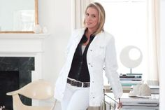 Victoria Hagen, Jonathan Adler and Mariette Himes Gomez are among top designers teaming with developers. Famous Interior Designers, Pinterest Popular, Coat, Apartments, Shots, Inspirational, Fashion, Moda, Sewing Coat