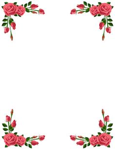 pin by muse printables on page borders and border clip art rh pinterest com clipart rose border rose border clip art free