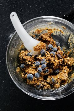 Monday Blue-Berry Oatmeal Cookie Looks delish! Some amazing food photography don't hurt.