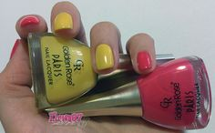 Smalti Golden Rose Paris Summer Collection 209 e 211 – Swatch