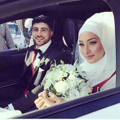 ✨💖Stunning couple on their wedding day mA!! 💖✨ #muslimwedding #wedding #engagement #formal #formalwear #islam #muslim #hijabstyle #hijabibride #hijabbride #weddingday #weddingdress #bride #bridal #muslimfashion #muslimbride #modest #modestfashion #beauty #nikah #beautyblogger #fashionblogger #weddinginspo #hijabfashion #photo #photography عرس# #عرسان #عروسة