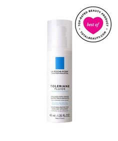 Best Face Moisturizer No. 1: La Roche-Posay Toleriane Fluide Soothing Protective Non-Oily Lotion, $29.9