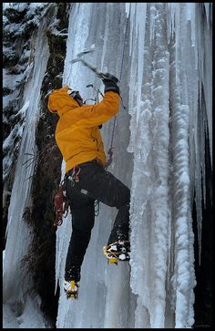 ice climbing oregon -