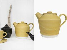 Teapot, Yellow
