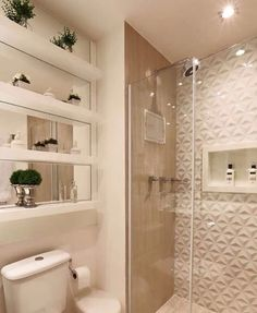 Re-organize your towels and toiletries during your next round of spring cleaning. Check out some of the best small bathroom storage ideas for Bathroom Layout, Bathroom Interior Design, Bathroom Storage, Small Bathroom, White Bathroom, Pastel Bathroom, Bathroom Ideas, Bathroom Trends, Dream Bathrooms