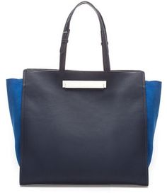c590f960b1e Shopper With Metallic Clasp on shopstyle.com Zara Totes