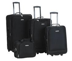 Rockland-Luggage-Dot-4-Piece-Luggage-Set-B004NIH7P6