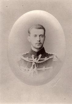Grand Duke Pavel Alexandrovich, youngest son of Tsar Alexander II of Russia. 1880s.