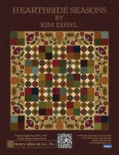 kim diehl free patterns - Google Search | Quilts | Pinterest ... : country style quilt patterns - Adamdwight.com