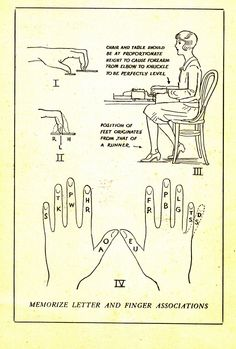 Stenographer techniques - bahaha, the foot position slays me!