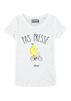 """T-shirt """"Pas pressé"""""""