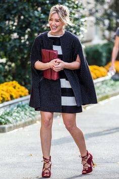 Pin for Later: Hilary Duff Looks Like the Perfect Advertisement For Fall