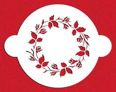 Ring of Roses Cake Stencil