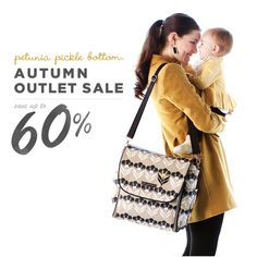 Autumn Outlet Sale! Save up to 60% of Petunia Pickle Bottom diaper bags and accessories at www.petuniaoutlet.com.