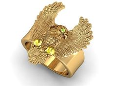 Ring eagle 3d Printable Models, Olympus, 3d Printing, Eagle, Mens Fashion, Diamond, Rings, Jewelry, Gold
