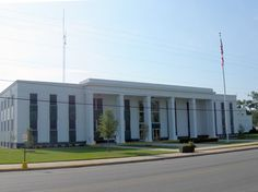 Escambia County courthouse, Brewton, Alabama. Good times here.