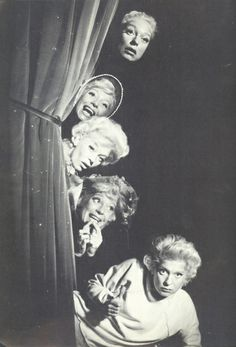 carol channing and family | Carol Channing on stage.