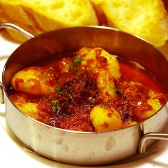 Spicy Shrimp Cazuela : 매콤새우 까주엘라 #엘쁠라또 #elplato #tapas  #sofrito #shrimp #cazuela