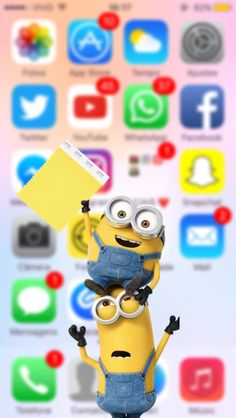 30 New Ideas For Wall Paper Celular Bloqueo Graciosos Minion Wallpaper Iphone, Simpson Wallpaper Iphone, Apple Logo Wallpaper, Disney Phone Wallpaper, Flower Phone Wallpaper, Galaxy Wallpaper, Dont Touch My Phone Wallpapers, Cute Wallpapers, Wallpaper Wallpapers